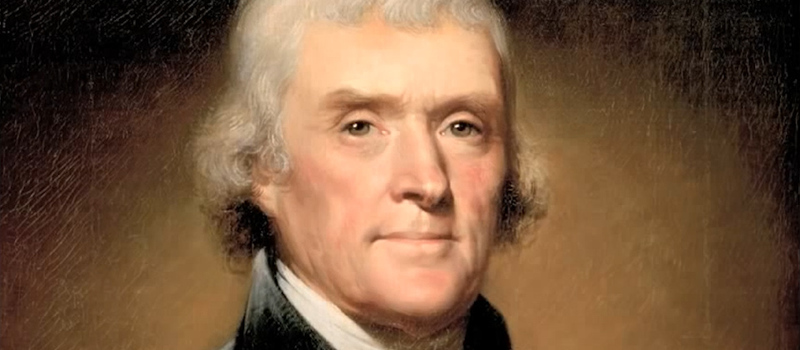 thesis on thomas jefferson In the years prior to thomas jefferson's presidency, he was a very vocal critic of the centralized federal government and was an avid follower of the constitution.