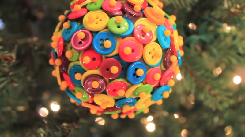 How to Make Five Christmas Ornaments