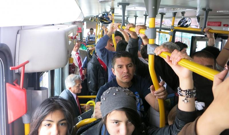 поскорее увидеть первый проходящий овтобус с лертого почте; через сайт
