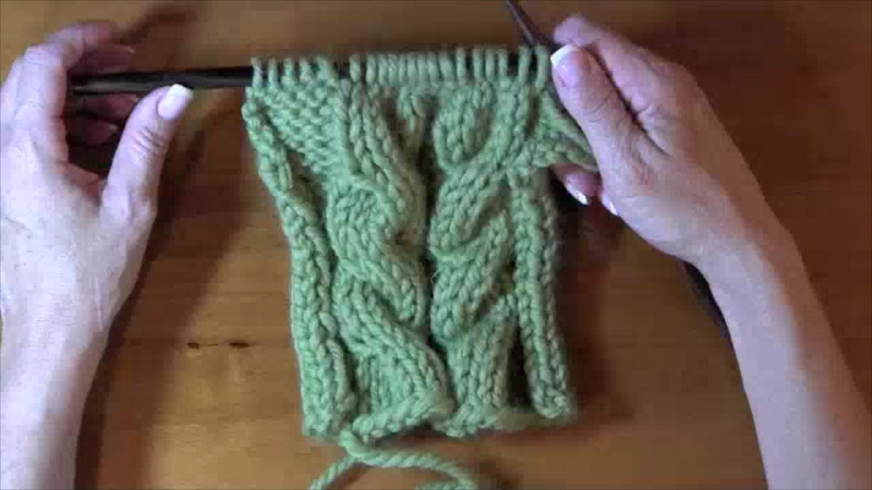 Knitting Cables Without Cable Needle : How to knit cables without cable needles curious