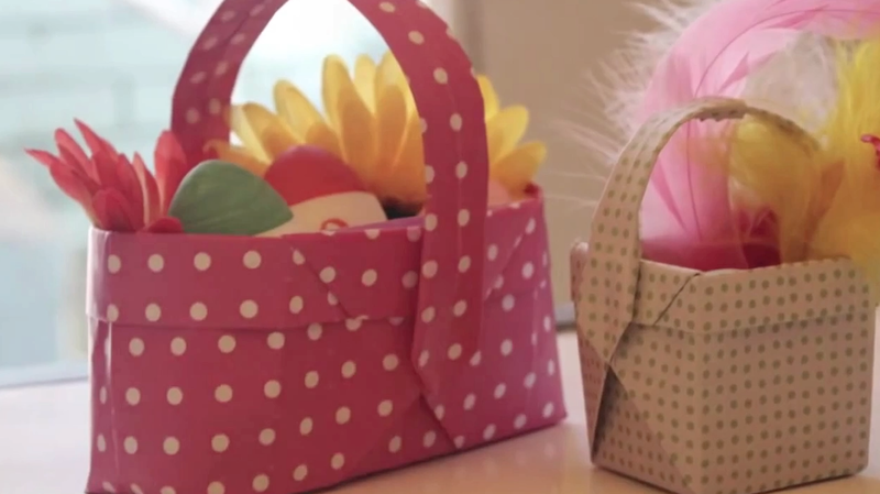 how to make easter baskets