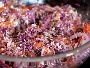 How to Make Raw Vegan Coleslaw