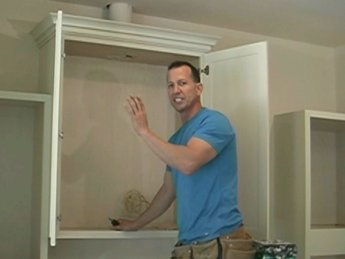 how to increase cabinet depth part 2
