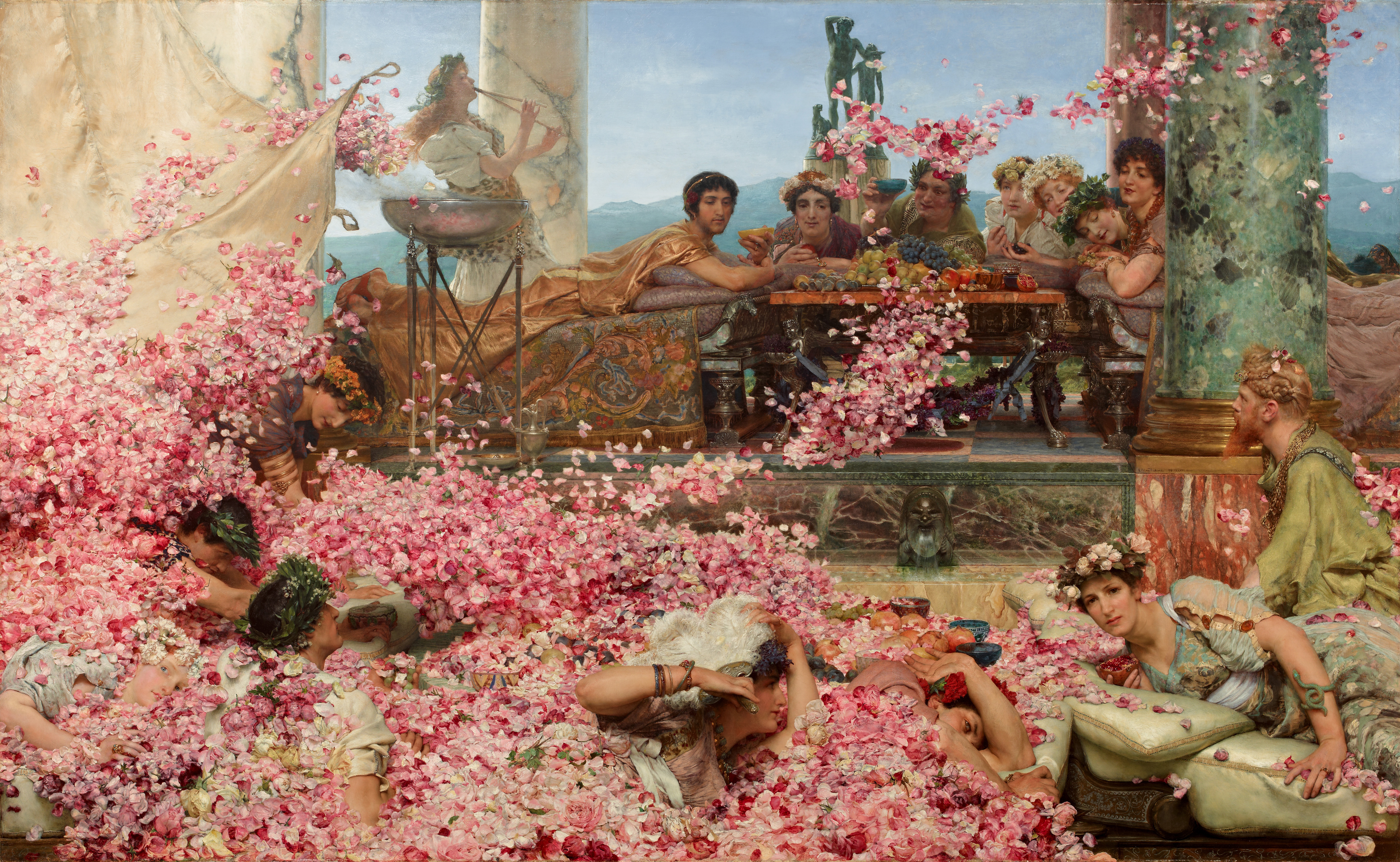 Jun10 2019 roses of heliogabalus alma tadema