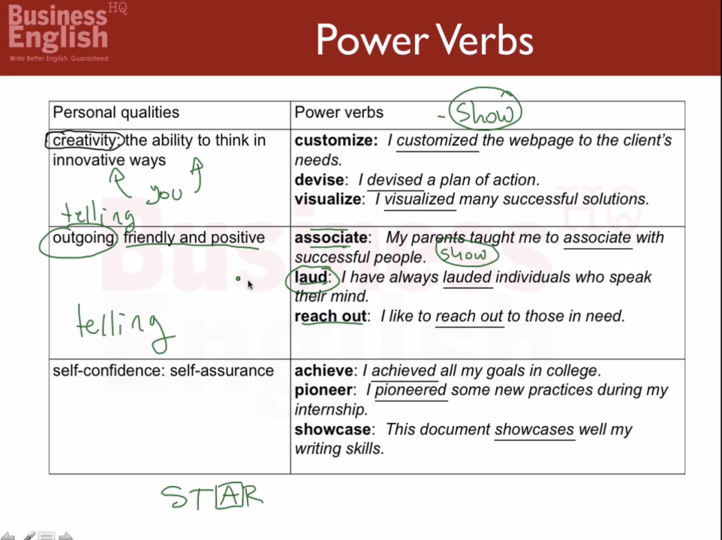 How To Use Resume Power Verbs Curious Com
