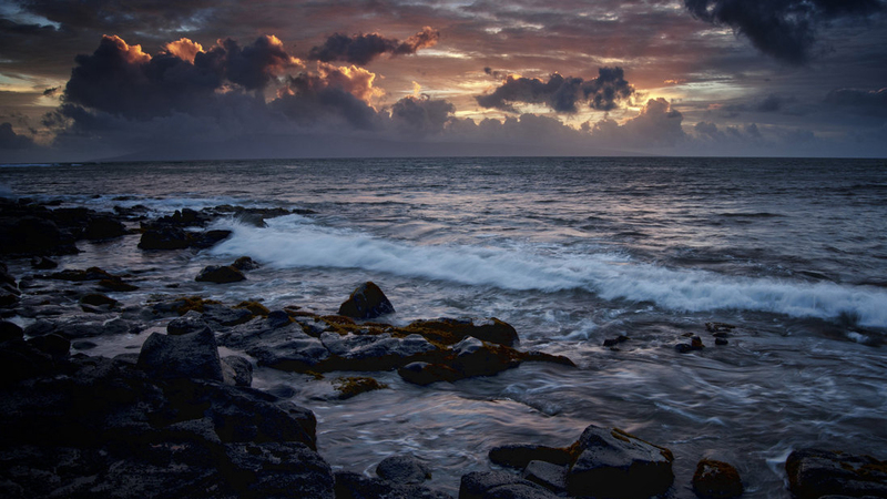 how to paint a night seascape with oils