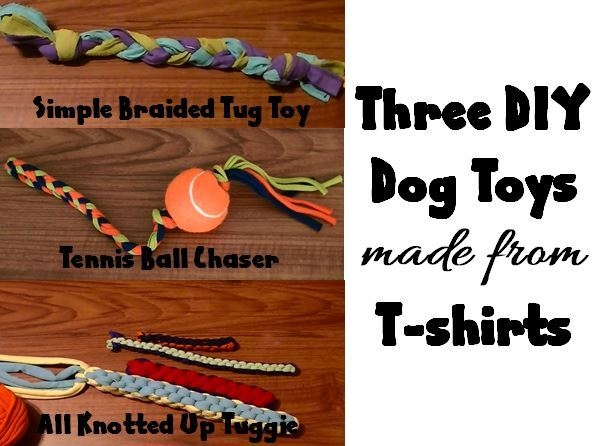 3 diy dog toys made from t shirts for T shirt dog toy