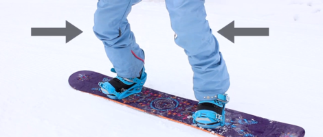 Snowboard Stance for Beginners