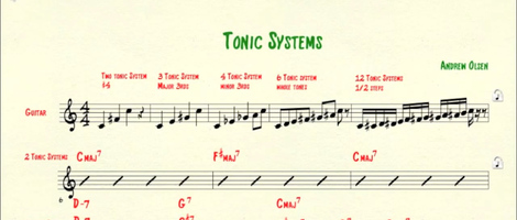 Mutli-Tonic Jazz Systems