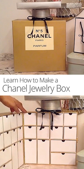 How to Make a Chanel Jewelry Box