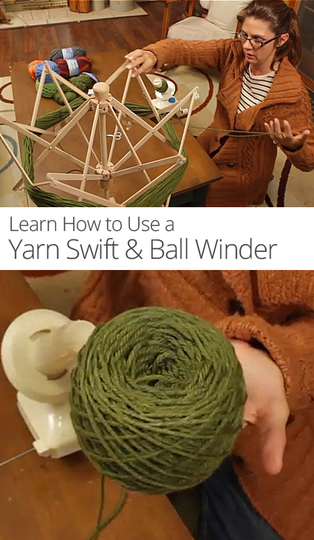 How To Use A Yarn Swift Ball Winder