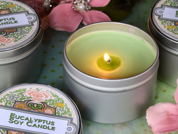 Our Brand New Soy Candle Tin Is The Lesson Of The Day!