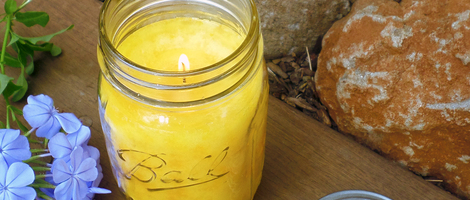 How to Make a Citronella Jar Candle