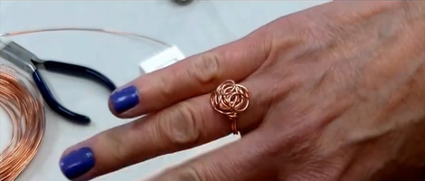 How to Make a Wire Knot Ring
