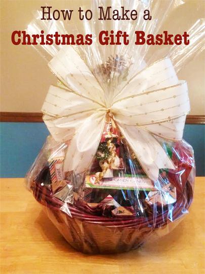 Making A Christmas Gift Basket Curious Com