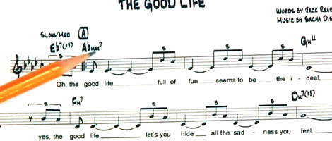 Jazz Chords & Tuplets in Notation