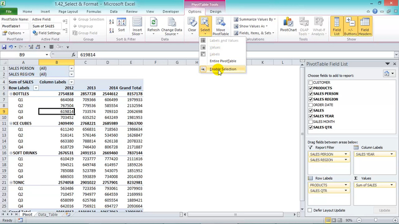Using Slicers for Conditional Formatting