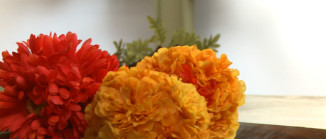Easy Silk Flower Arrangements