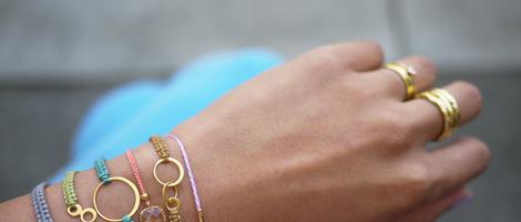 Fashionable Macrame Bracelets