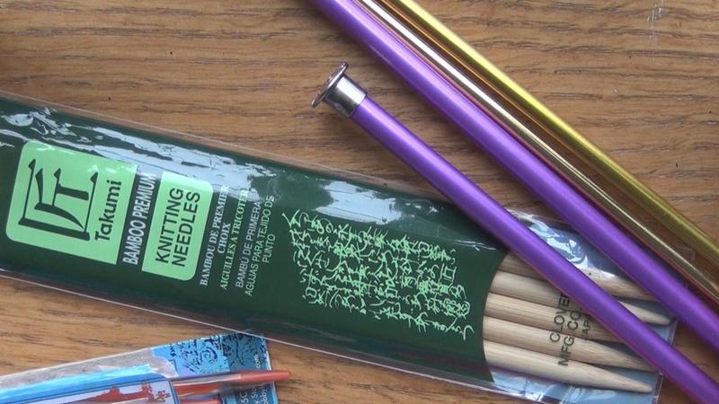 Knitting Needles And Yarn For Beginners : Choosing knitting needles yarn curious