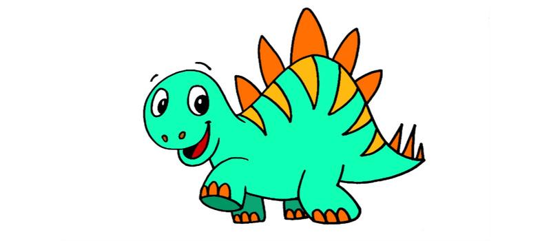 How to Draw a Cartoon Stegosaurus | Curious.com
