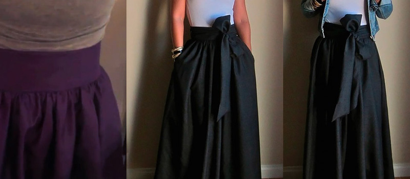 Diy Regal Maxi Skirt Curious Com