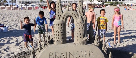 How to Build a Sandcastle with Kids