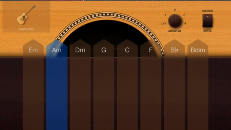 4-Chord Progressions in GarageBand