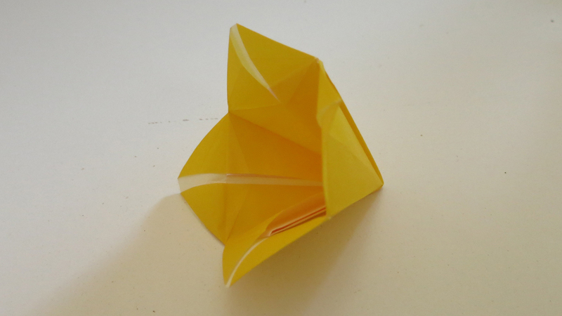 How to make an origami bellflower mightylinksfo