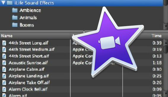 Editing Music & Audio in iMovie 10