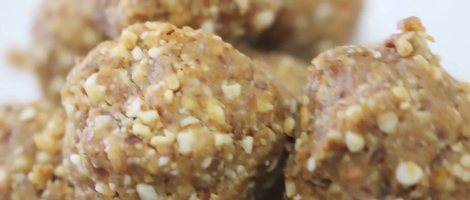 Ginger Nut Bites Raw Snack Recipe