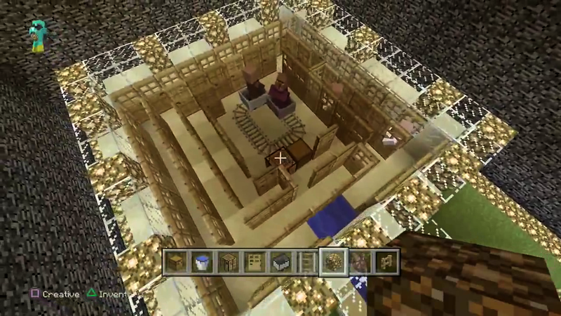 Making a Minecraft Villager Farm