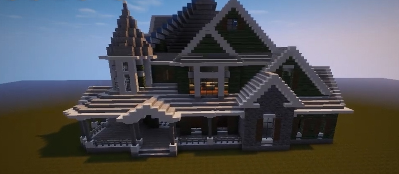 Enjoyable Building A Victorian House In Minecraft Curious Com Home Remodeling Inspirations Propsscottssportslandcom