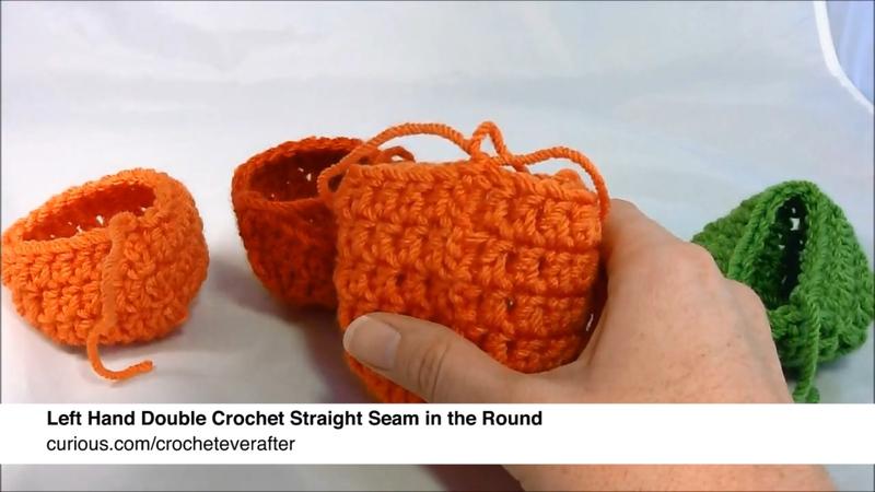 How To Double Crochet Left Handed