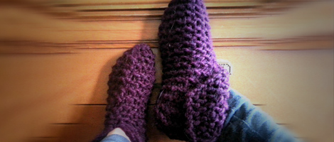 Cuffed Cozy Slippers