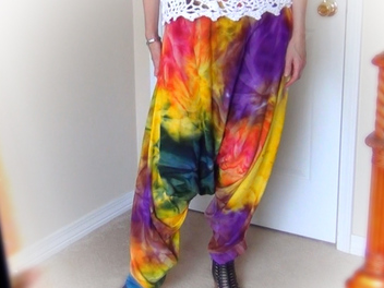 New Curious course - How to Sew Harem Pants