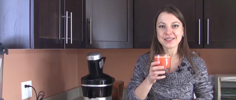 How to Make Carrot Apple Juice