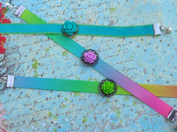 How to Make a Bracelet from a Ribbon, now on Curious.com