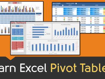 New Curious course - Excel Pivot Table Basics!