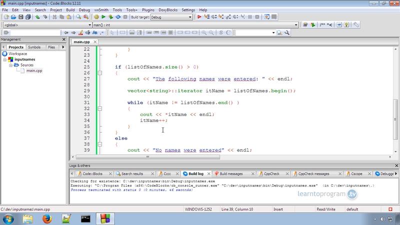 Using Vectors in C++ Programming