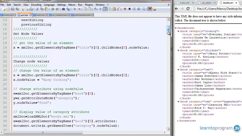 Adding Nodes to an XML Tree Demo