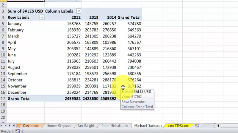 Tips for Creating Pivot Tables in Excel