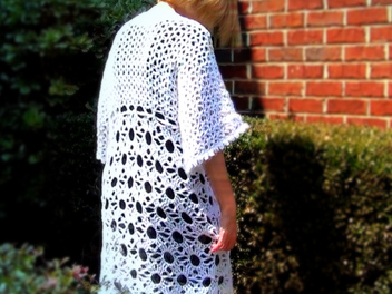 How to Make a Lace Crochet Jacket