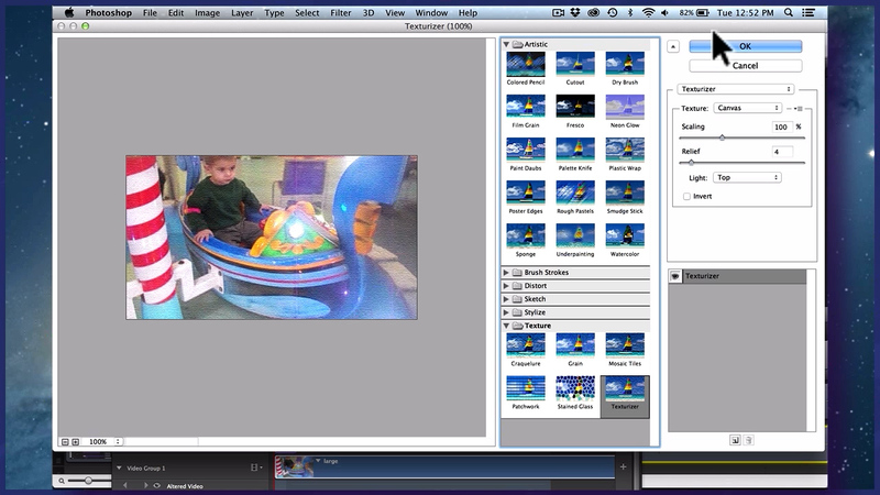 Video Filters in Photoshop