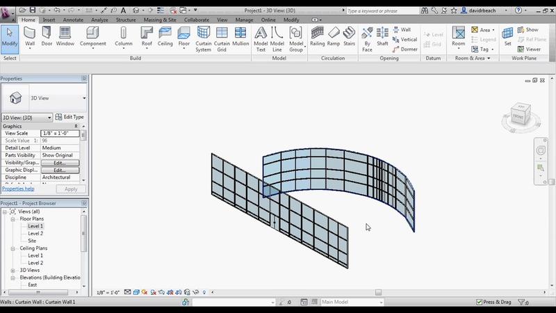 Mass Modeling in Autodesk Revit