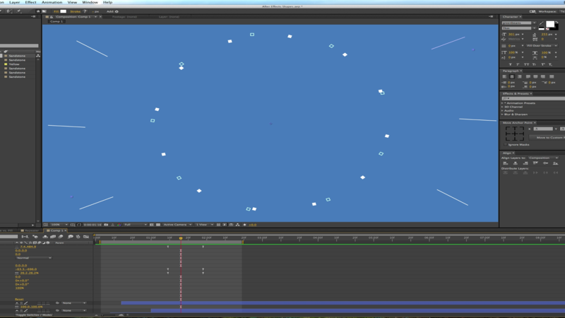 Using a Repeater in After Effects