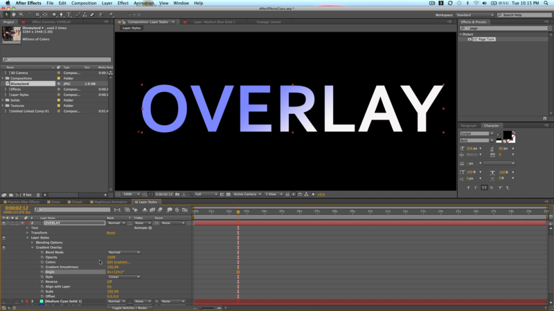Adding Overlays in After Effects