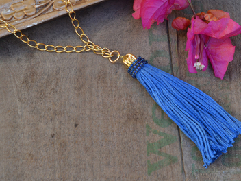 Learn To Make A Tassel Necklace!