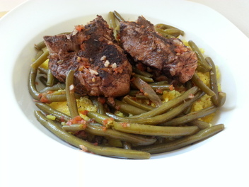 New Curious lesson - Fasoolya Green Bean & Lamb Stew Recipe