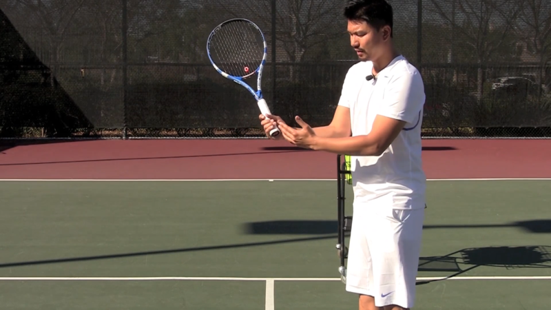 Some good tips on double backhand on lock and roll tennis #tennis ...